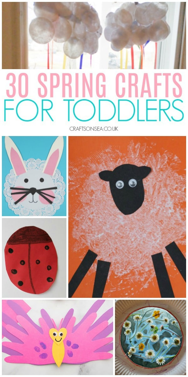 30 Easy And Fun Spring Crafts For Toddlers Crafts On Sea