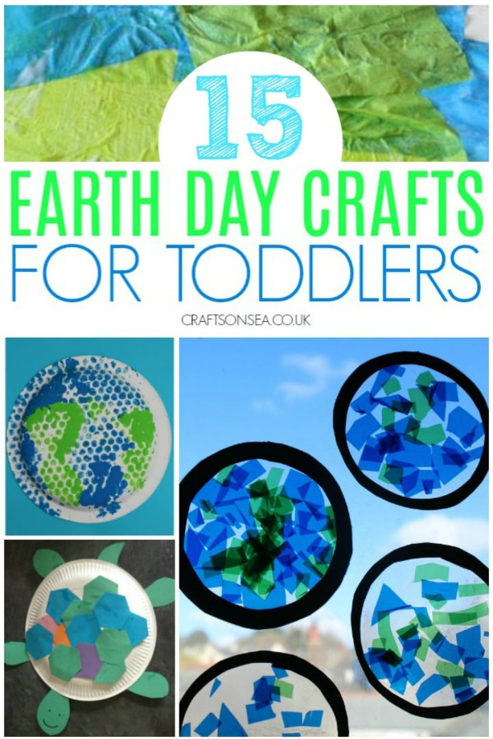 earth day crafts for toddlers simple ideas activities