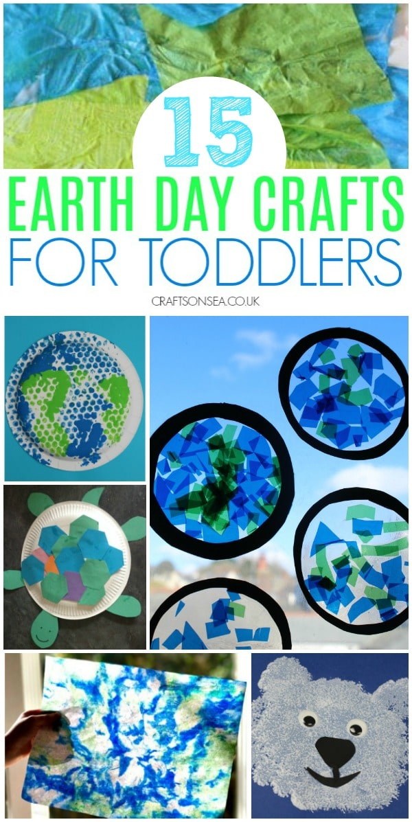 earth day crafts for toddlers simple ideas