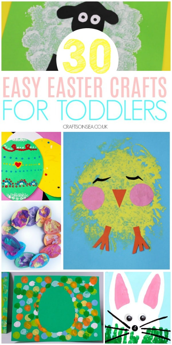 easter crafts for toddlers preschool