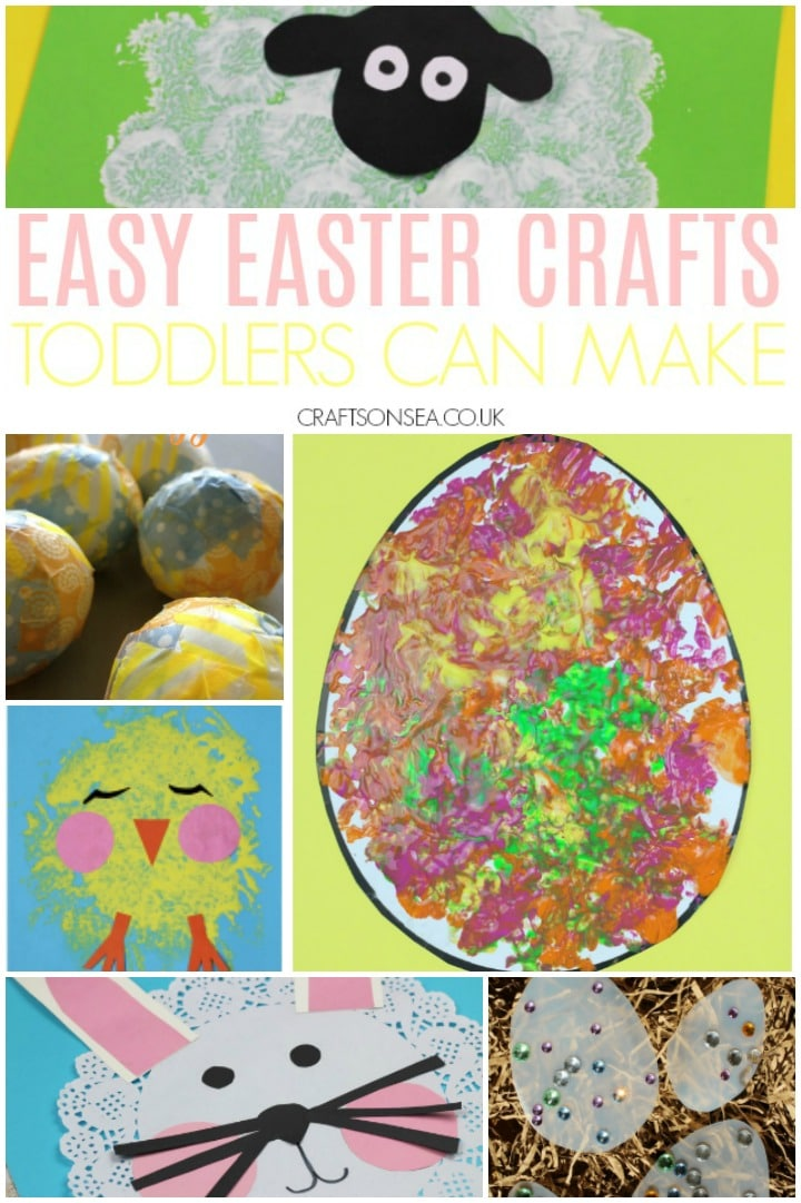 30 Easy And Fun Easter Crafts For Toddlers Crafts On Sea