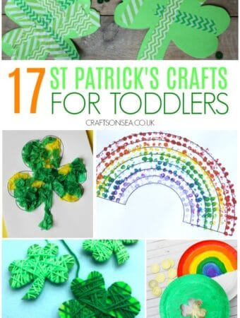 easy st patricks day crafts for toddlers rainbow crafts shamrocks