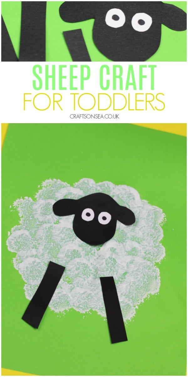 sheep crafts for toddlers for kids