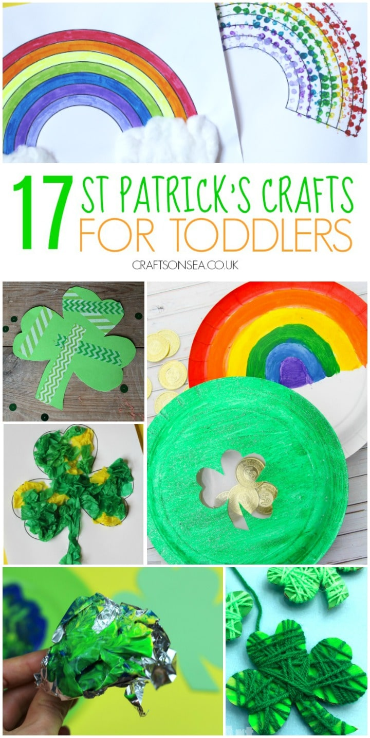 st patricks crafts for toddlers