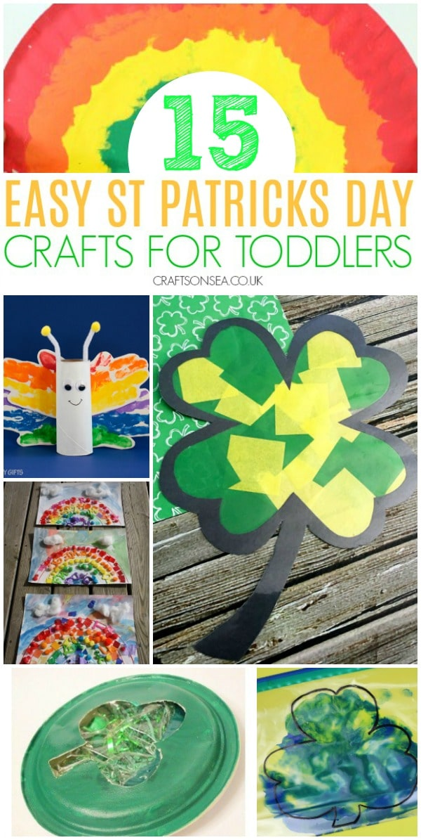 st patricks day crafts for kids toddlers #stpatricksday #kidscrafts