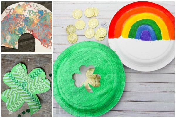st patricks day crafts for toddlers easy and fun