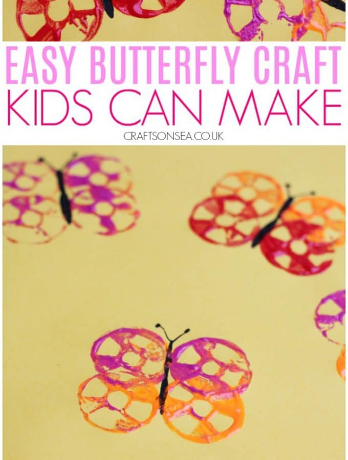 butterfly crafts for kids preschool toddlers