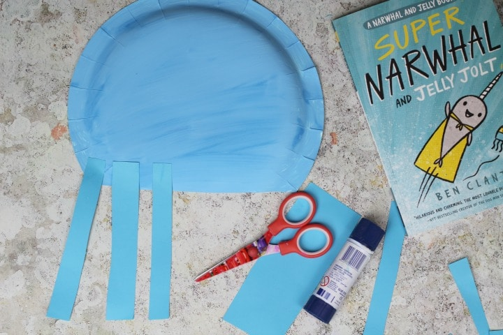 easy paper plate jellyfish craft