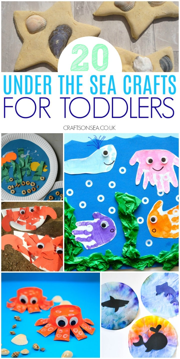 sea crafts for toddlers ocean themes