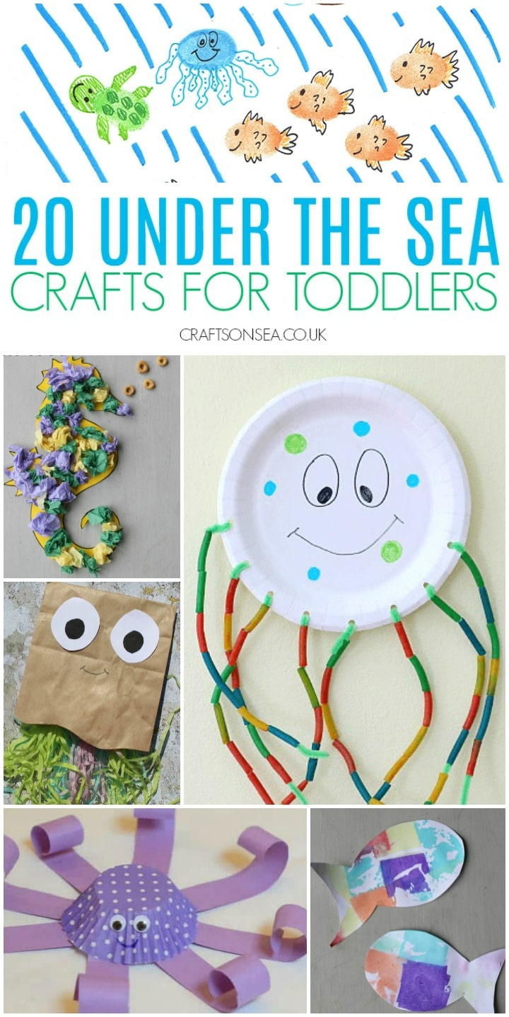 sea crafts for toddlers under the
