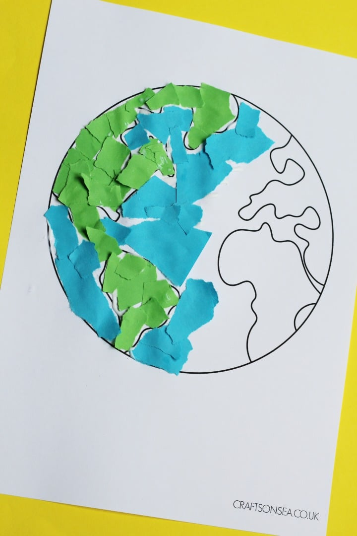 Earth Day Crafts Archives - Crafts on Sea on