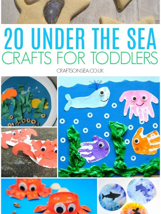 under the sea crafts toddlers can make