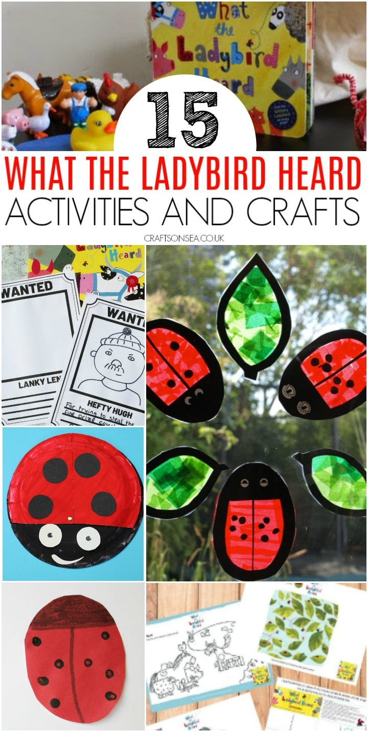 what the ladybird heard activities and crafts for kids