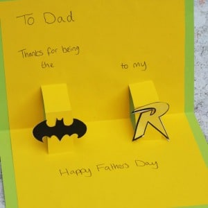 batman fathers day card 300