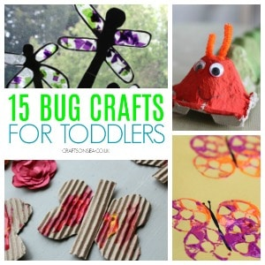 bug crafts for toddlers 300