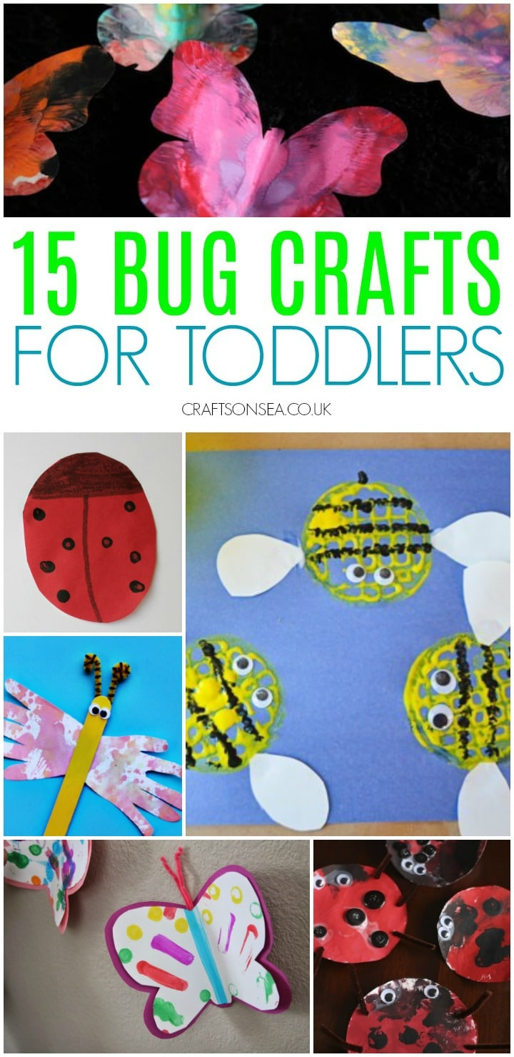 bug crafts for toddlers easy