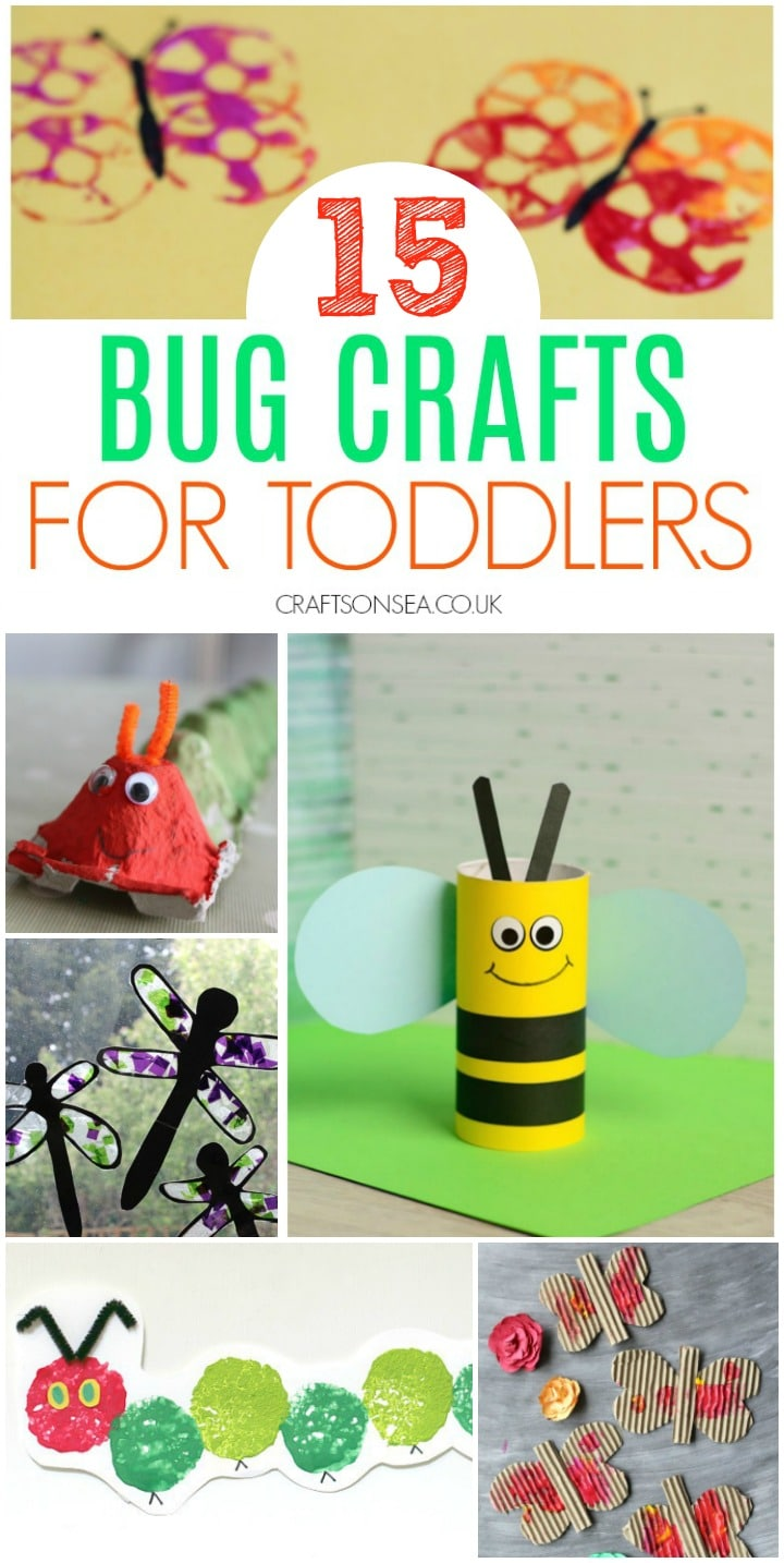 bug crafts for toddlers preschool