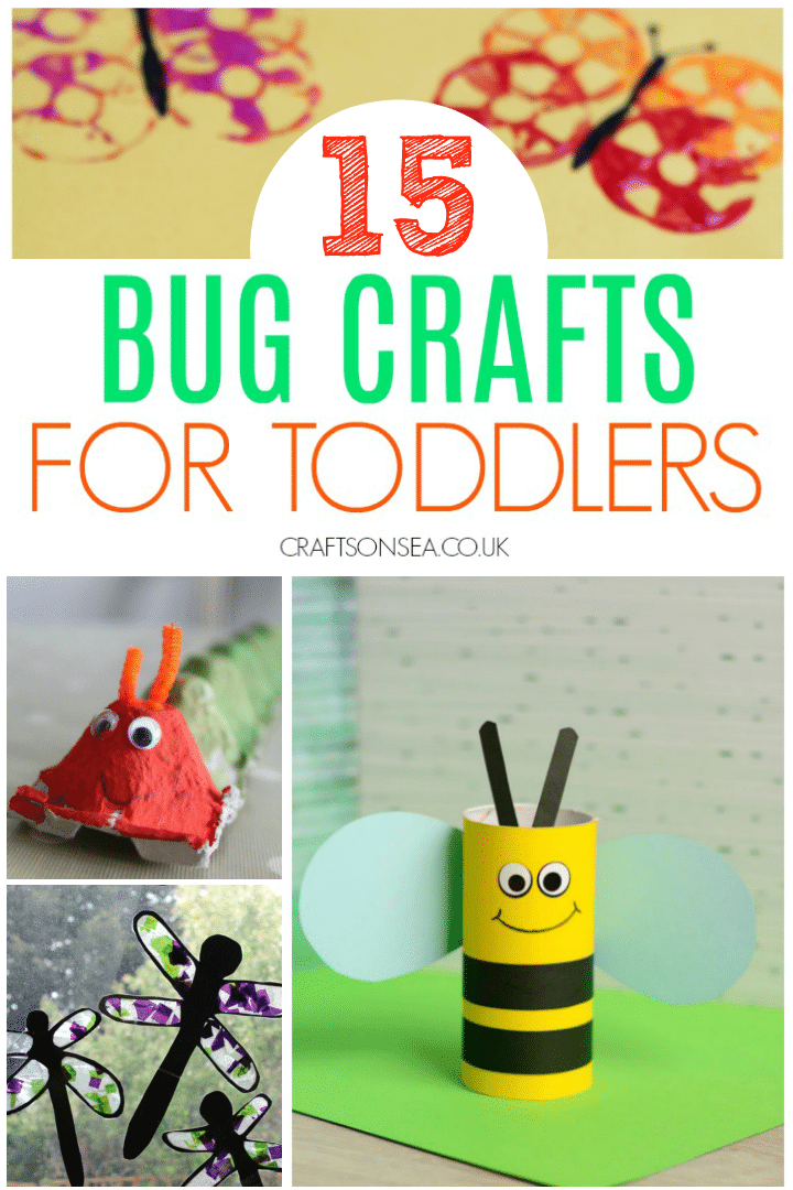 Bug Crafts For Toddlers Crafts On Sea