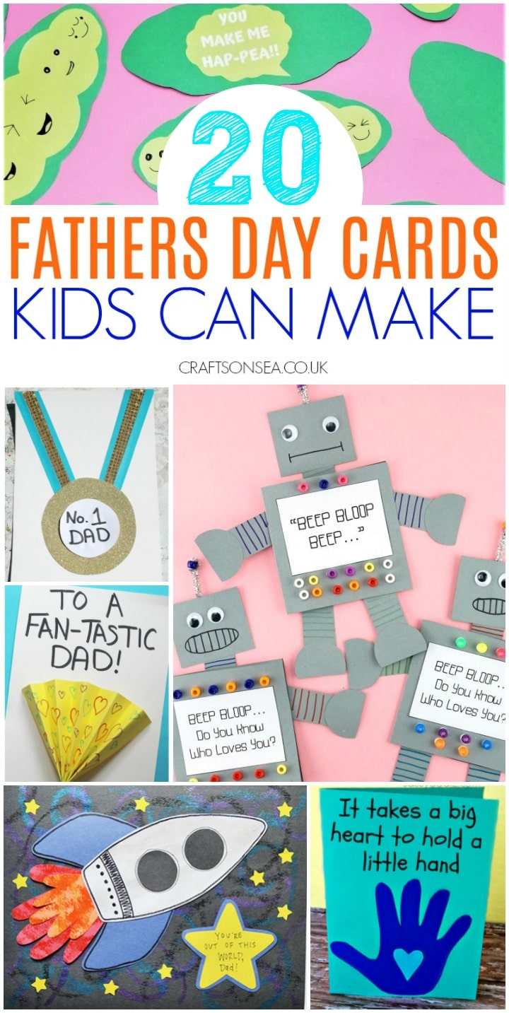 fathers day cards kids can make homemade preschool