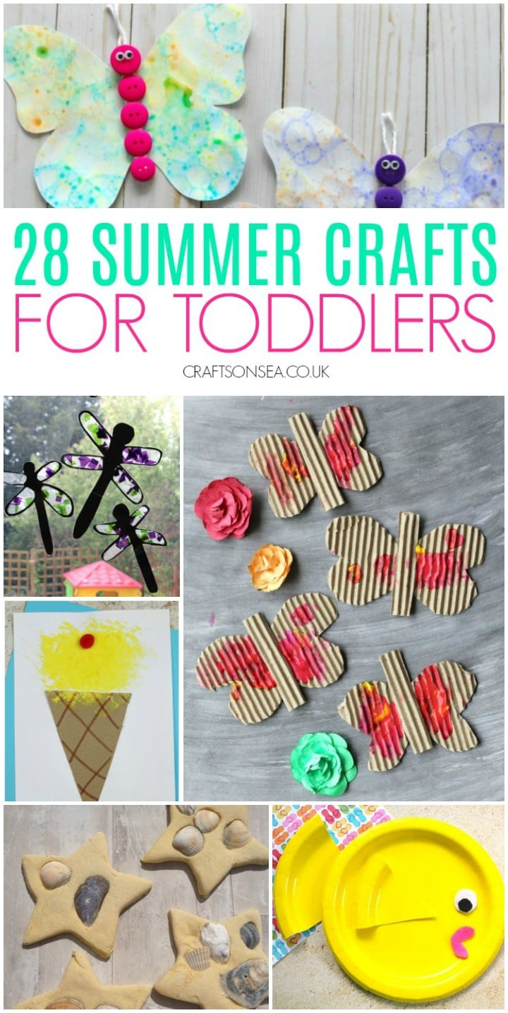 summer crafts for toddlers easy fun