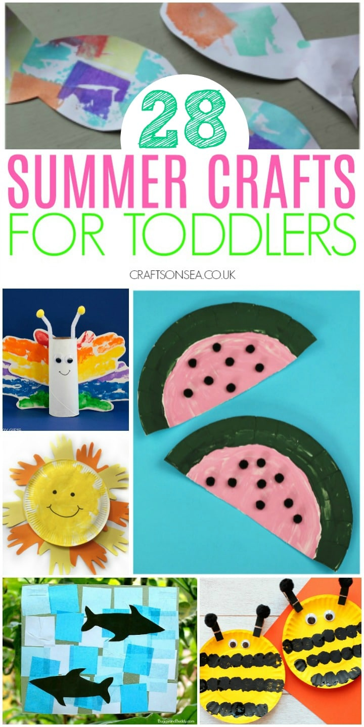 summer crafts for toddlers preschool watermelon sun butterfly