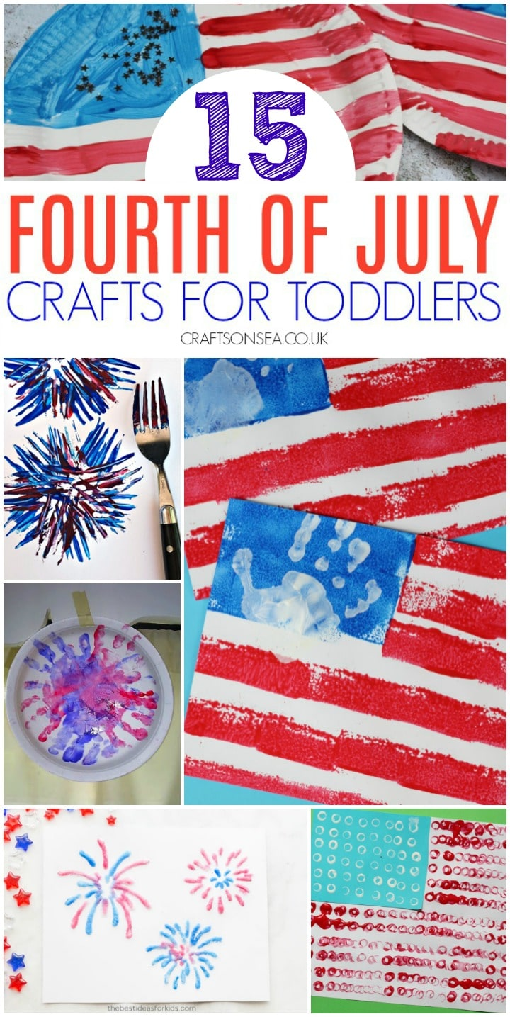 4th of july crafts for toddlers kids easy
