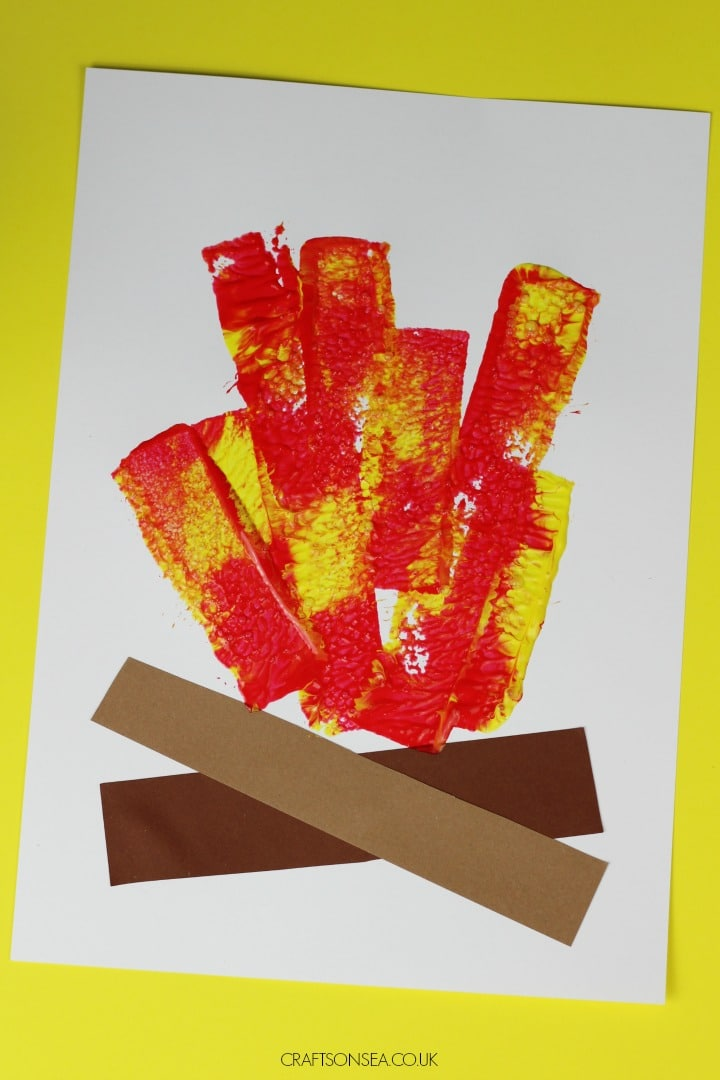 easy campfire craft for kids to make