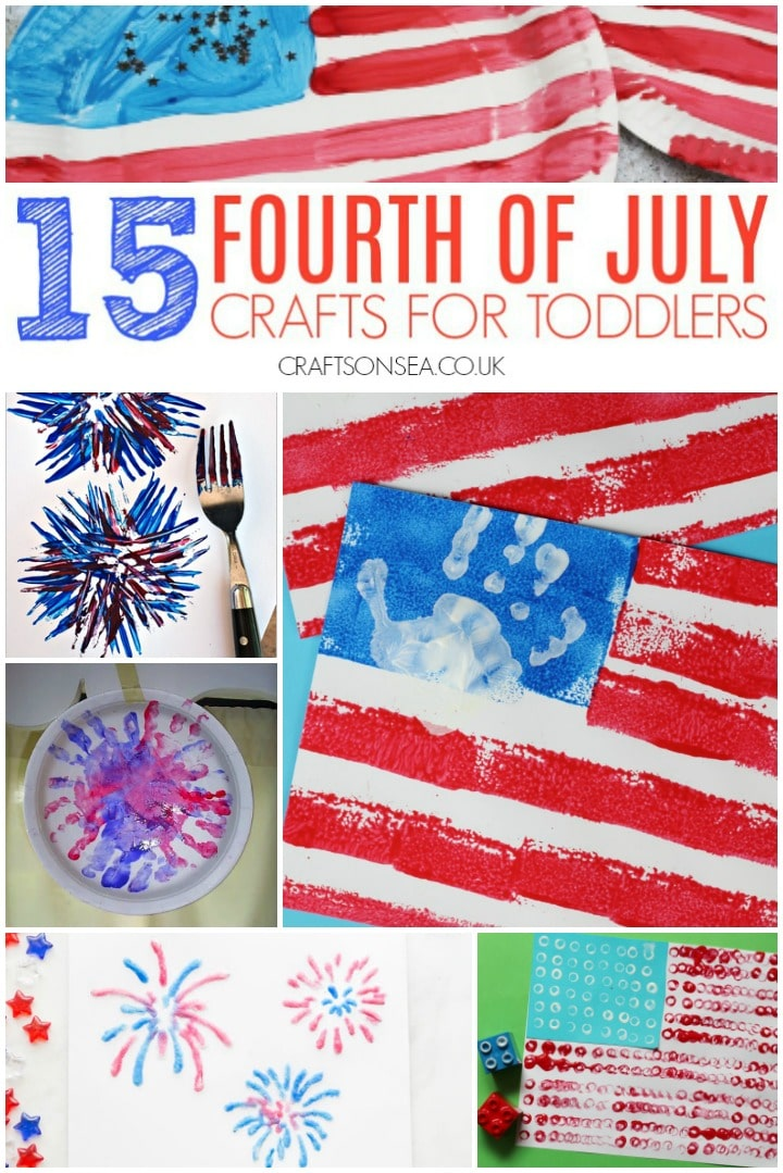 fouth of july crafts for toddlers to make