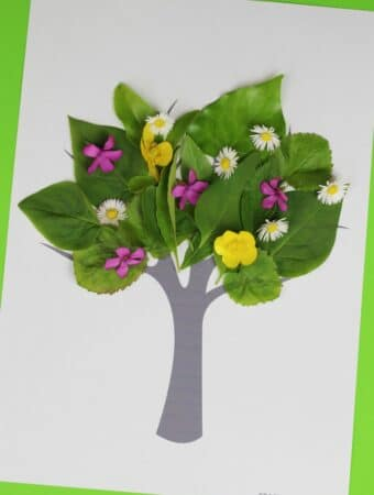 tree nature craft for kids