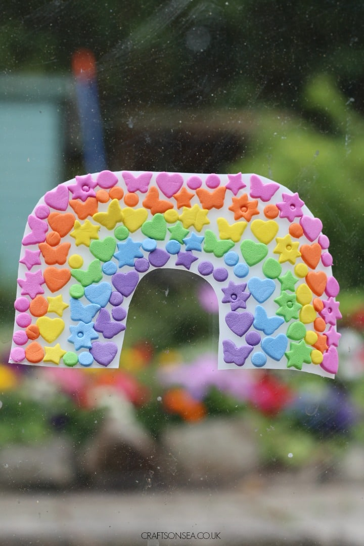 RAINBOW SUNCATCHER CRAFT EASY