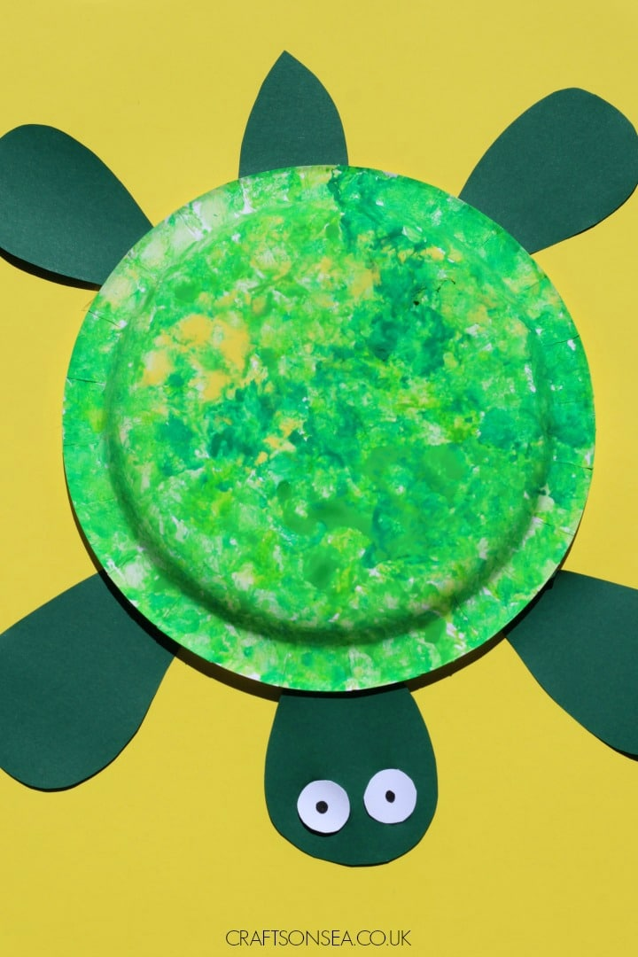 easy turtle craft for kids to make
