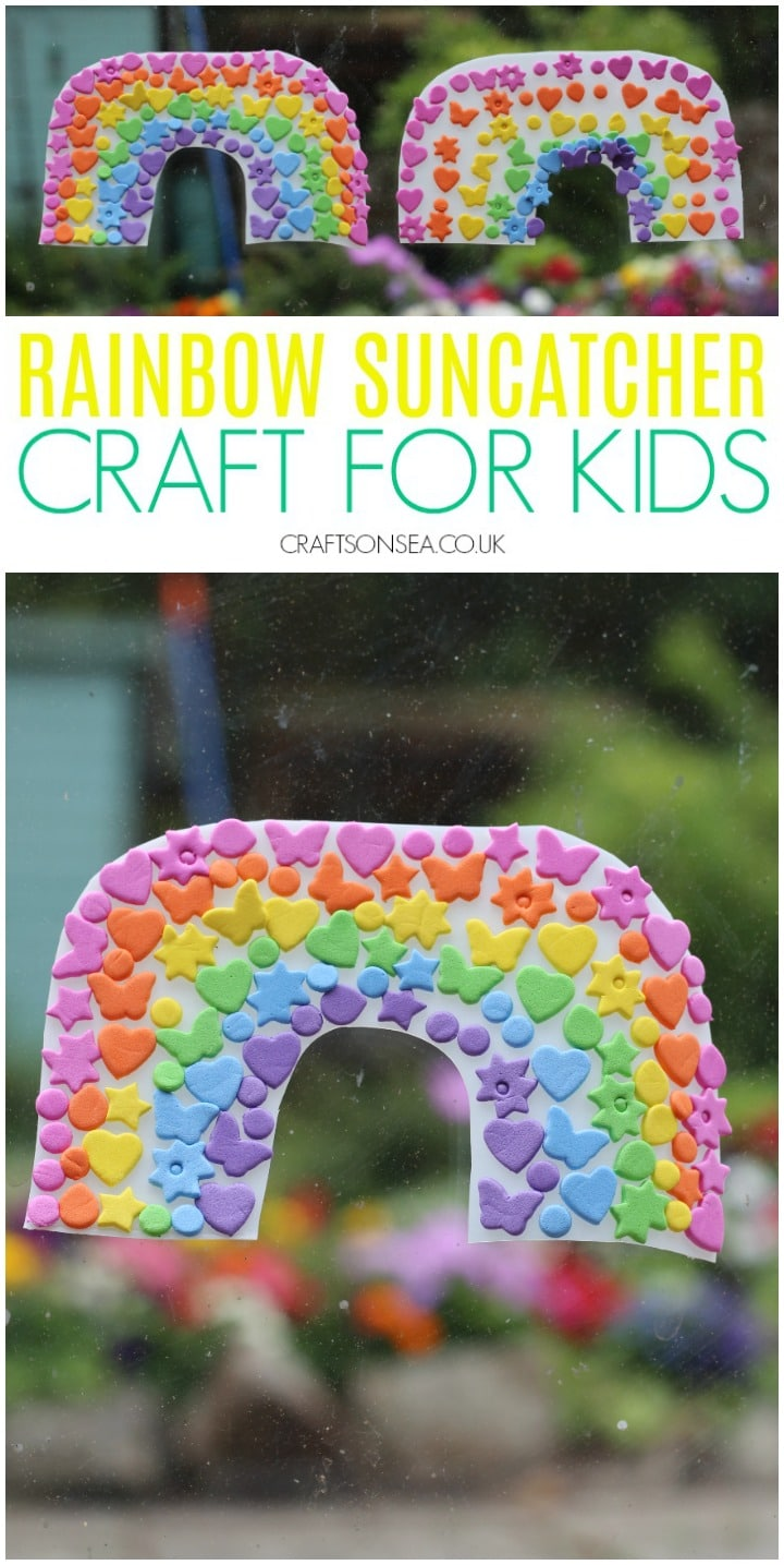 rainbow crafts for kids easy fine motor