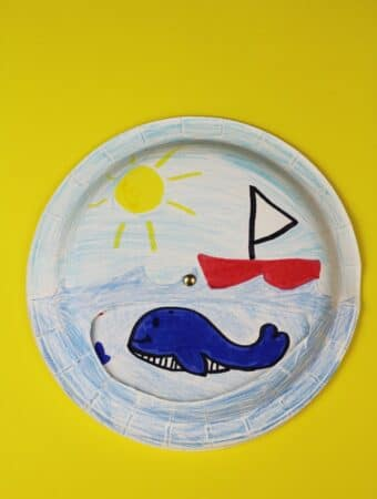 sea paper plate craft for kids