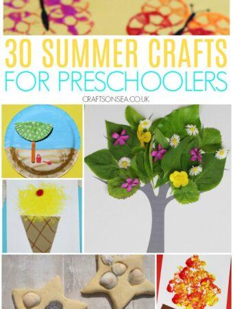 summer crafts for preschoolers easy beach crafts ice cream sea shells