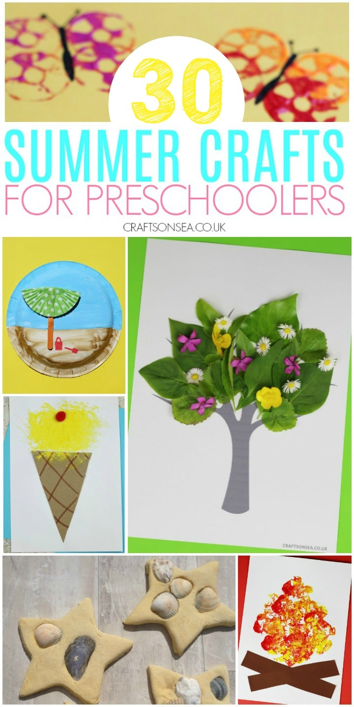summer crafts for preschoolers preschool