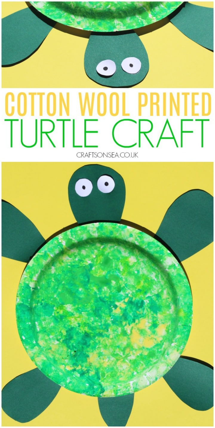 turtle craft for kids preschool easy