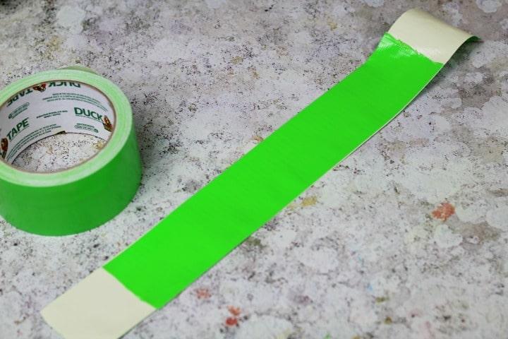 duck tape halloween treat bags handle