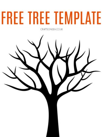 free tree template printable painting ideas