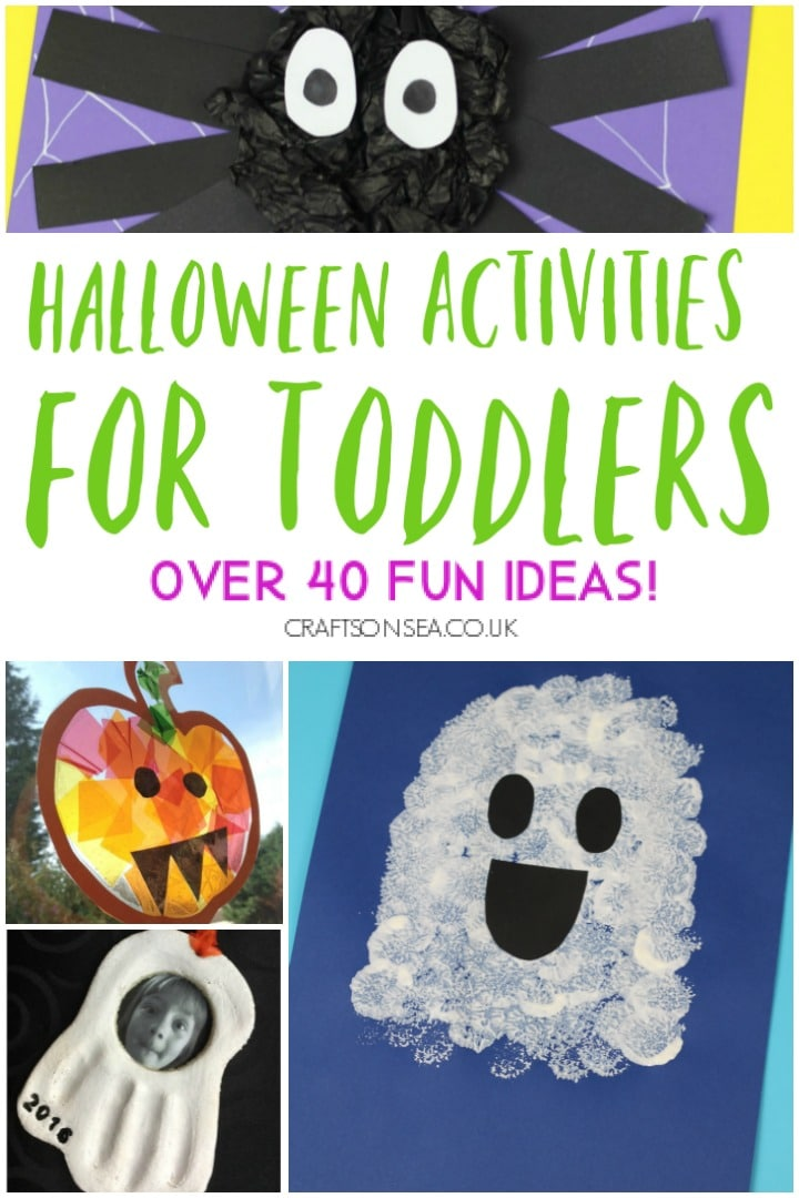 halloween activities for toddlers easy crafts