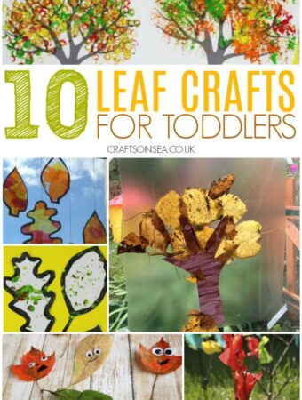 leaf crafts for toddlers preschoolers easy leaves
