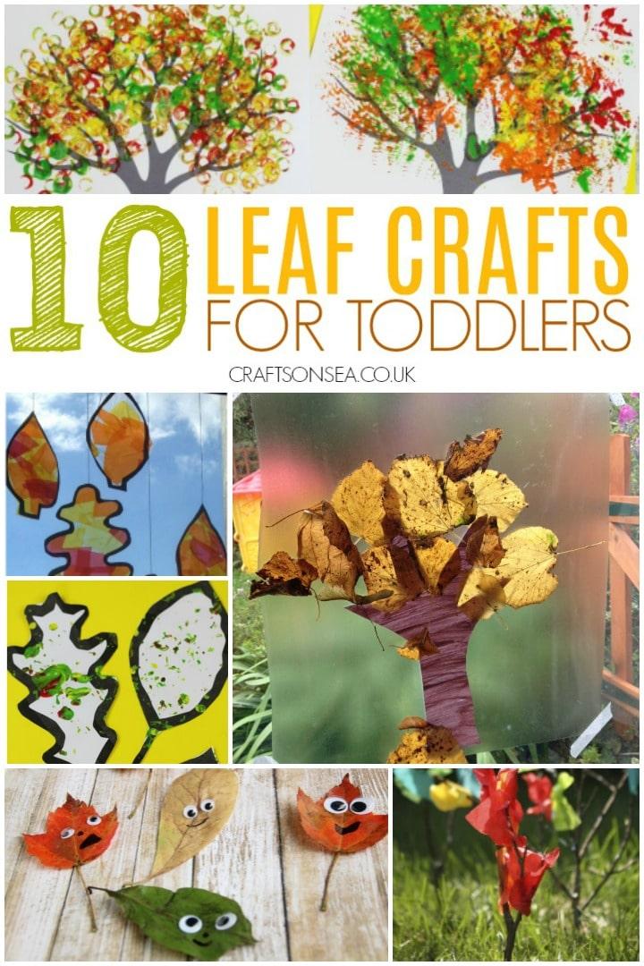 Leaf Crafts For Toddlers Crafts On Sea