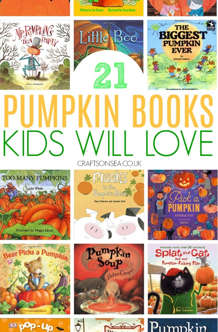 pumpkin books for kids read aloud
