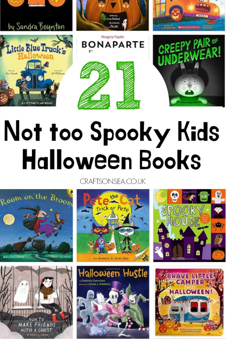 the best halloween books for kids not scary