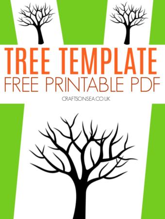 tree template free printable