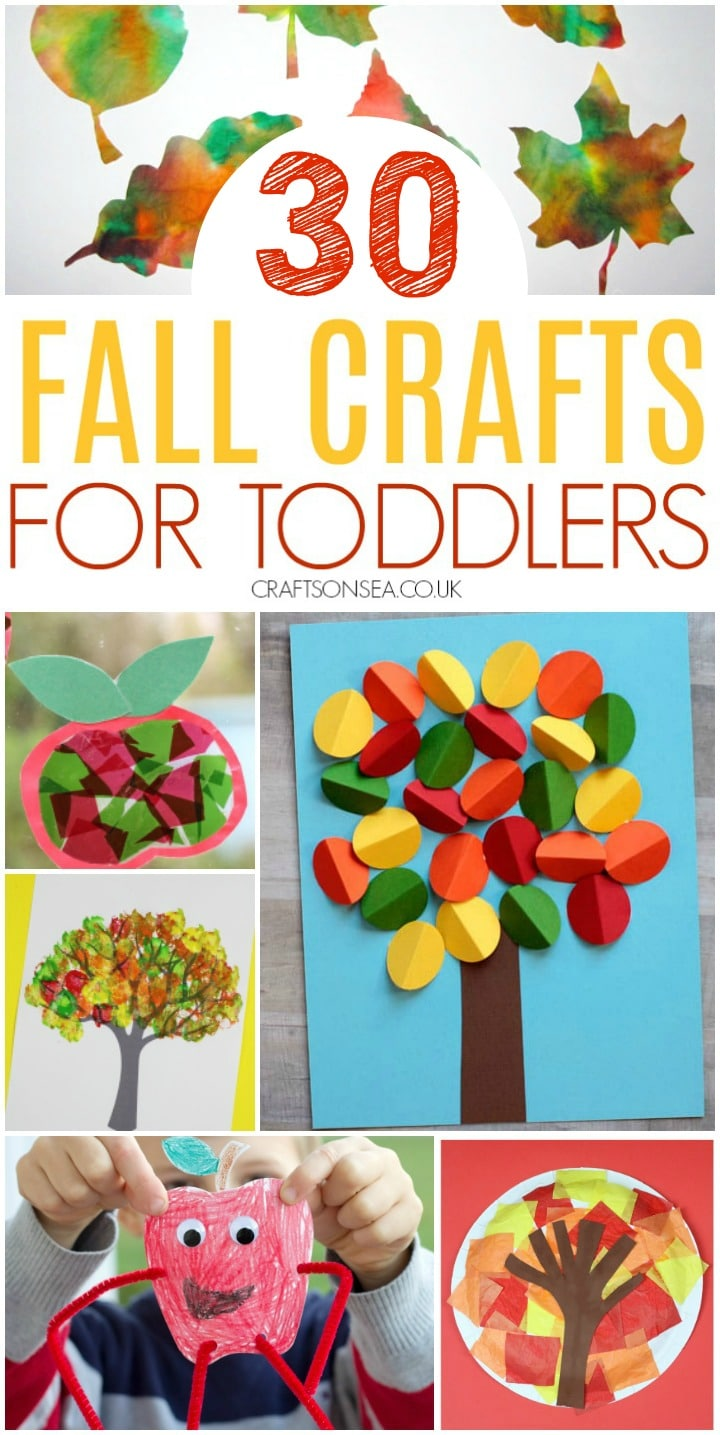 easy fall crafts for toddlers