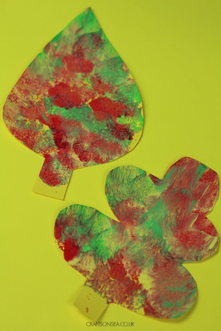easy fall leaf craft for kids suitable for toddlers and s preschool