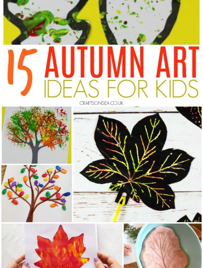 fall and autumn art ideas for kids