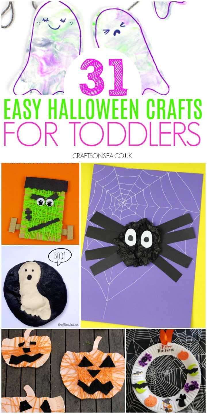 halloween crafts for toddlers kids