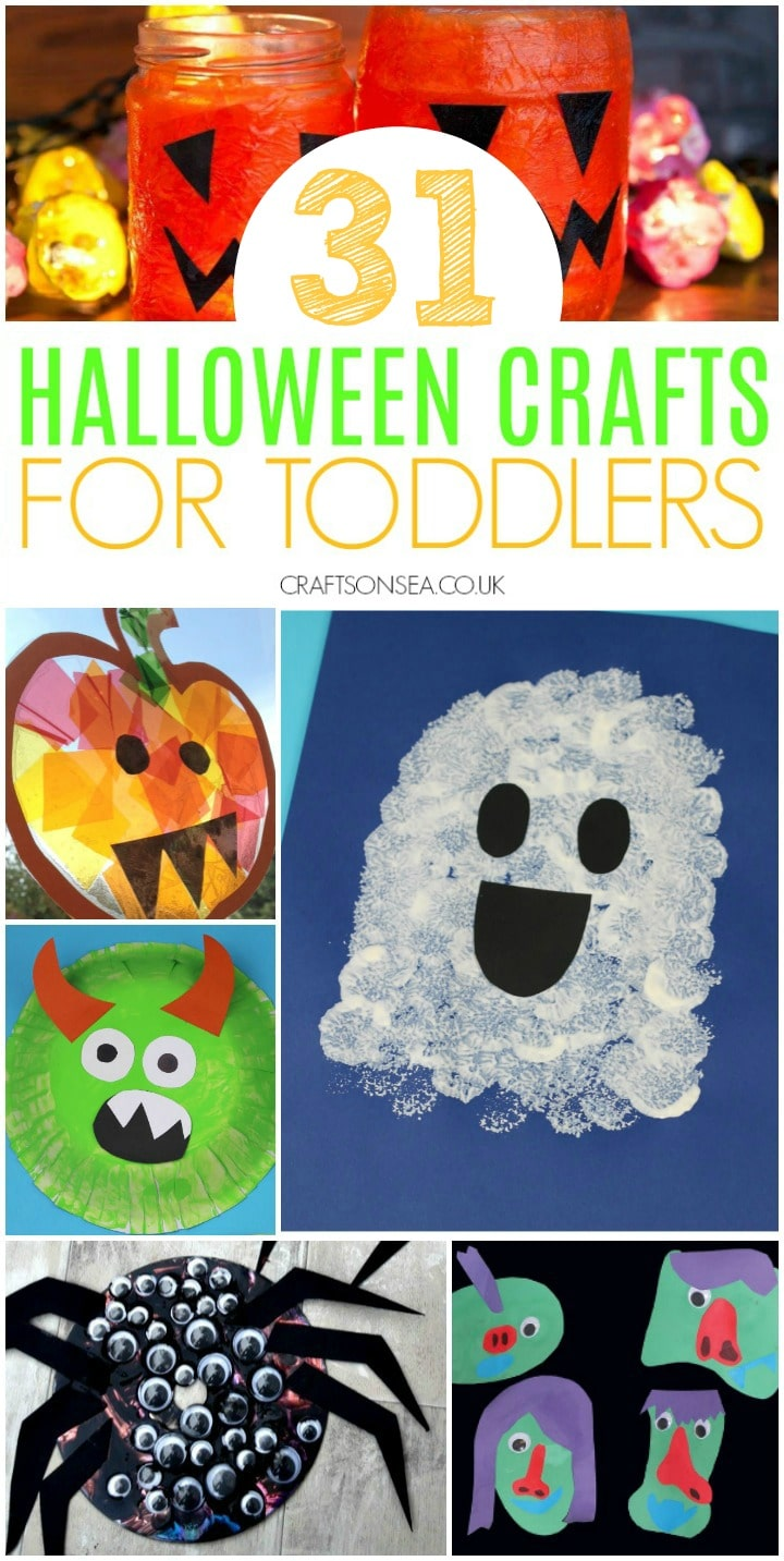 collage of halloween crafts for toddlers preschool ghost crafts pumpkin crafts