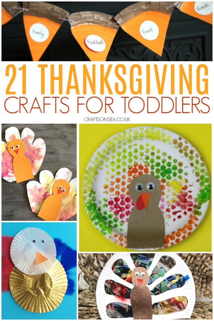 Thanksgiving Crafts For Toddlers Crafts On Sea
